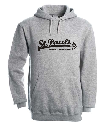 Kapuzensweatshirt St Pauli Loves Me